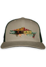 Rep Your Water Vintage License Plate Cap