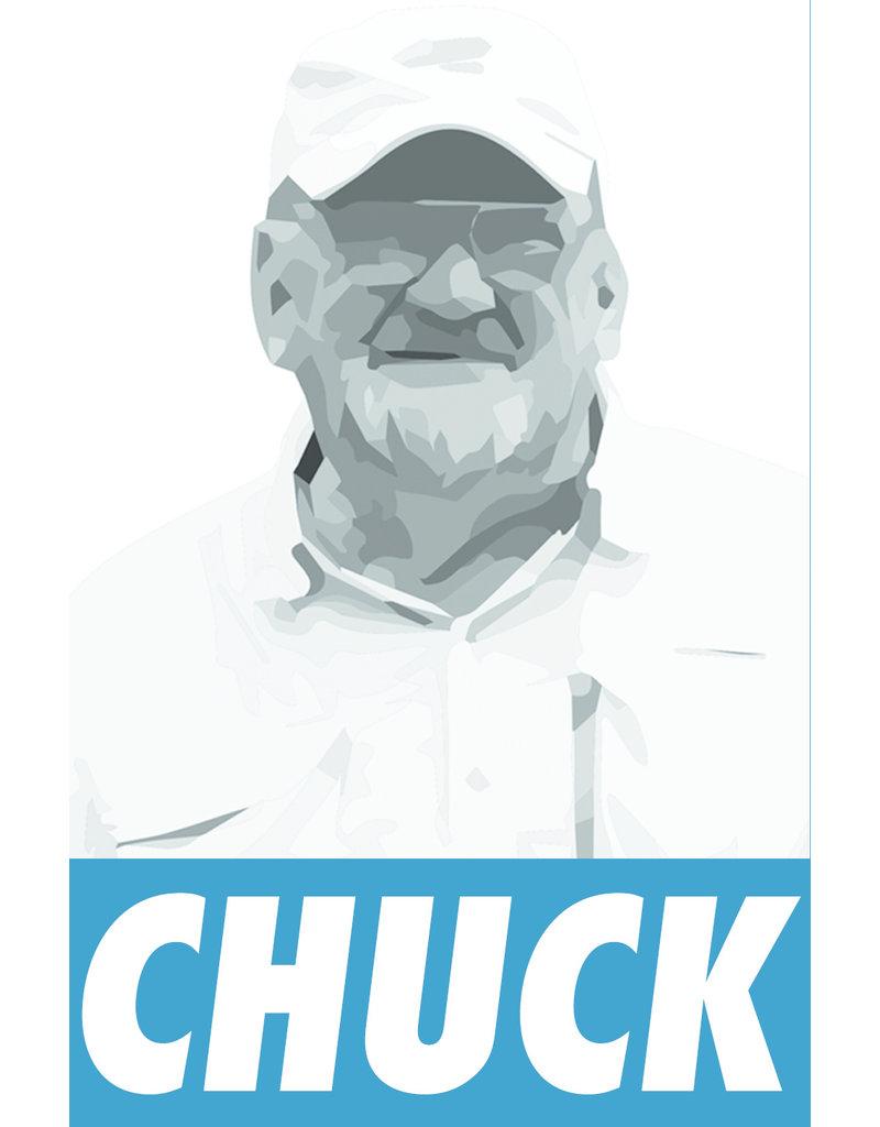 District Angling Chuck Kraft Sticker