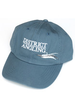 District Angling District Angling Velcro Twill Cap
