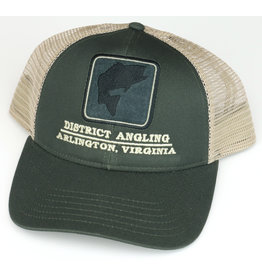 District Angling District Angling Bass Icon Trucker