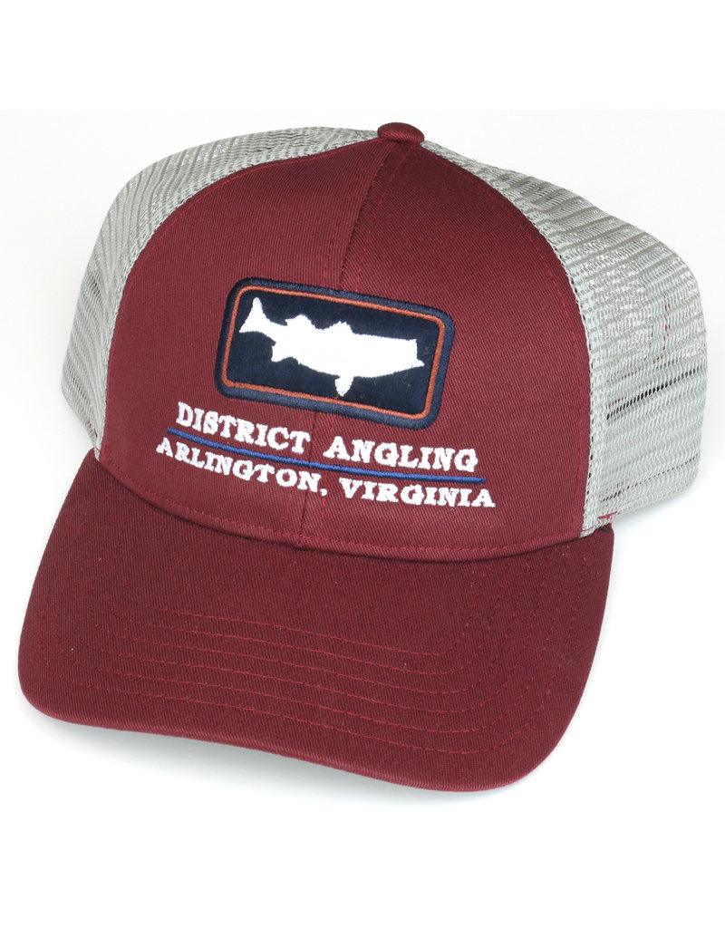 District Angling District Angling Striper Icon Trucker