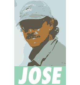 District Angling Jose Sticker