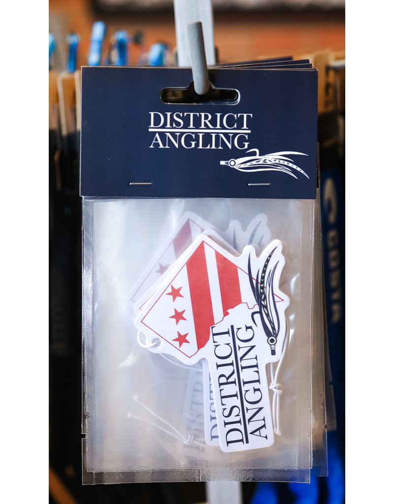 District Angling Car Air Freshener