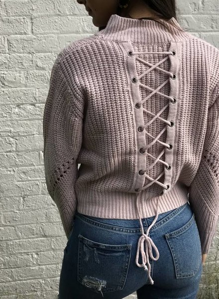 Blue Blush bridgette sweater