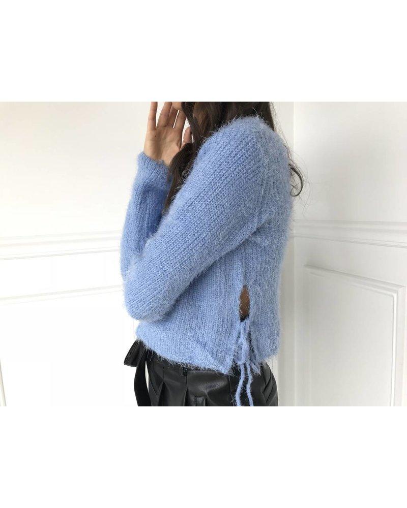 cotton candy tori sweater