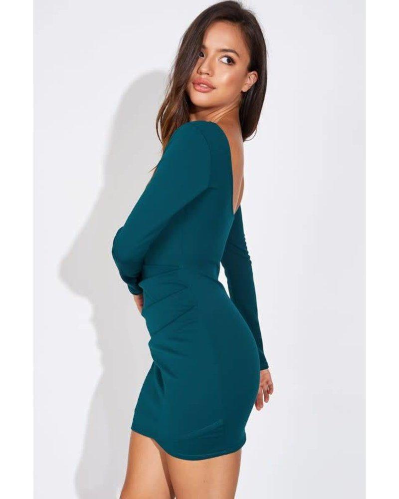 Blue Blush avah dress