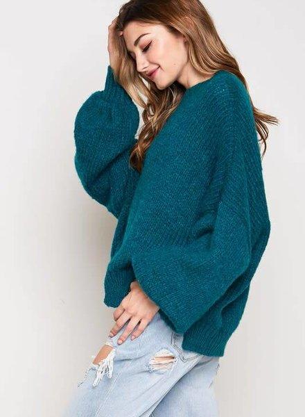 Blue Blush dallas sweater