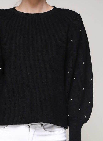 Mustard Seed pearl sweater