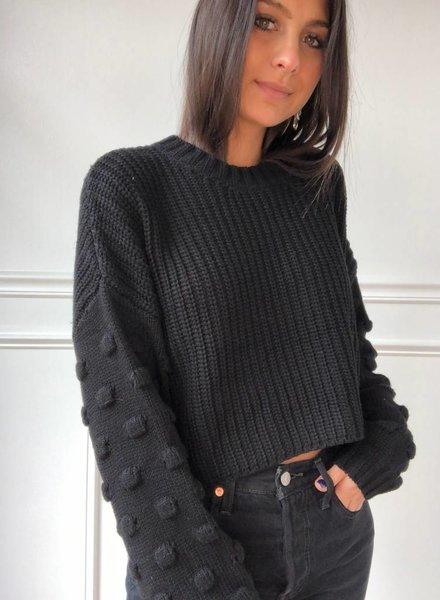 En Creme amina sweater