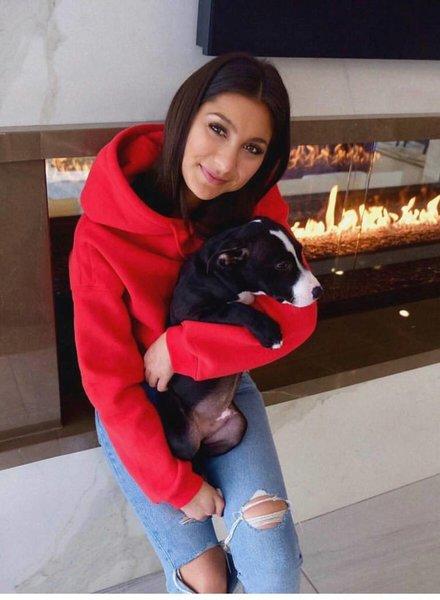 Audrey 3+1 sage sweatshirt