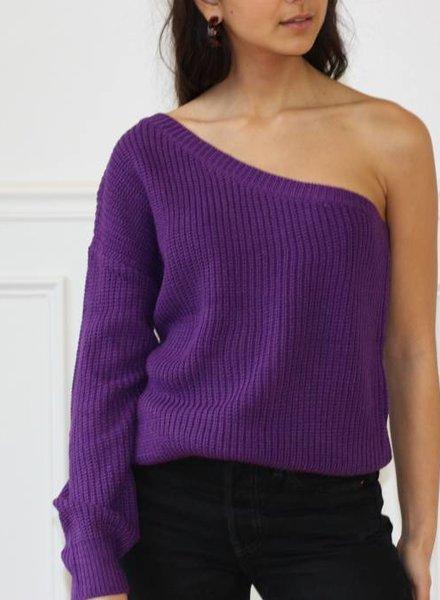 venti6 violet sweater