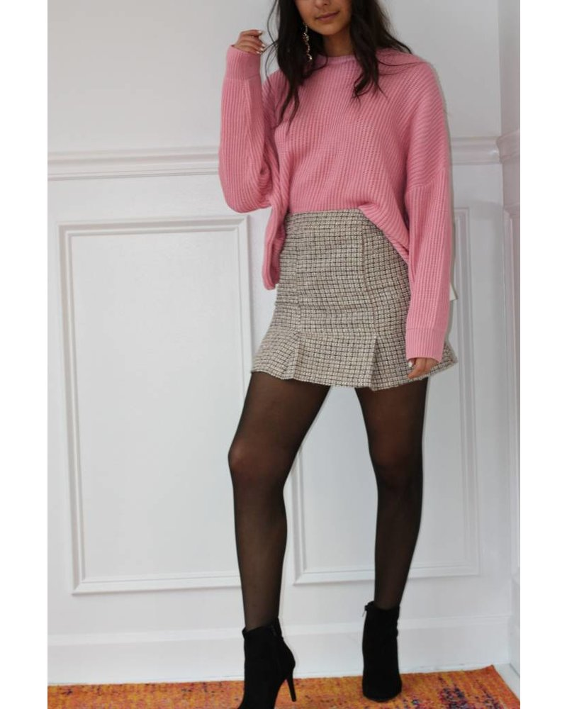 cotton candy elle sweater