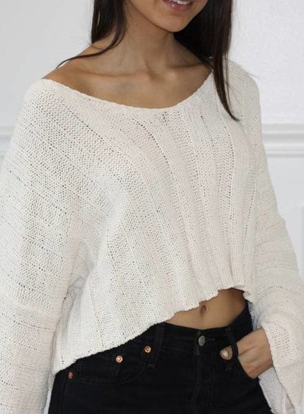 lumiere paisley sweater