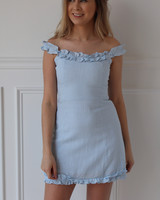 cotton candy bella dress
