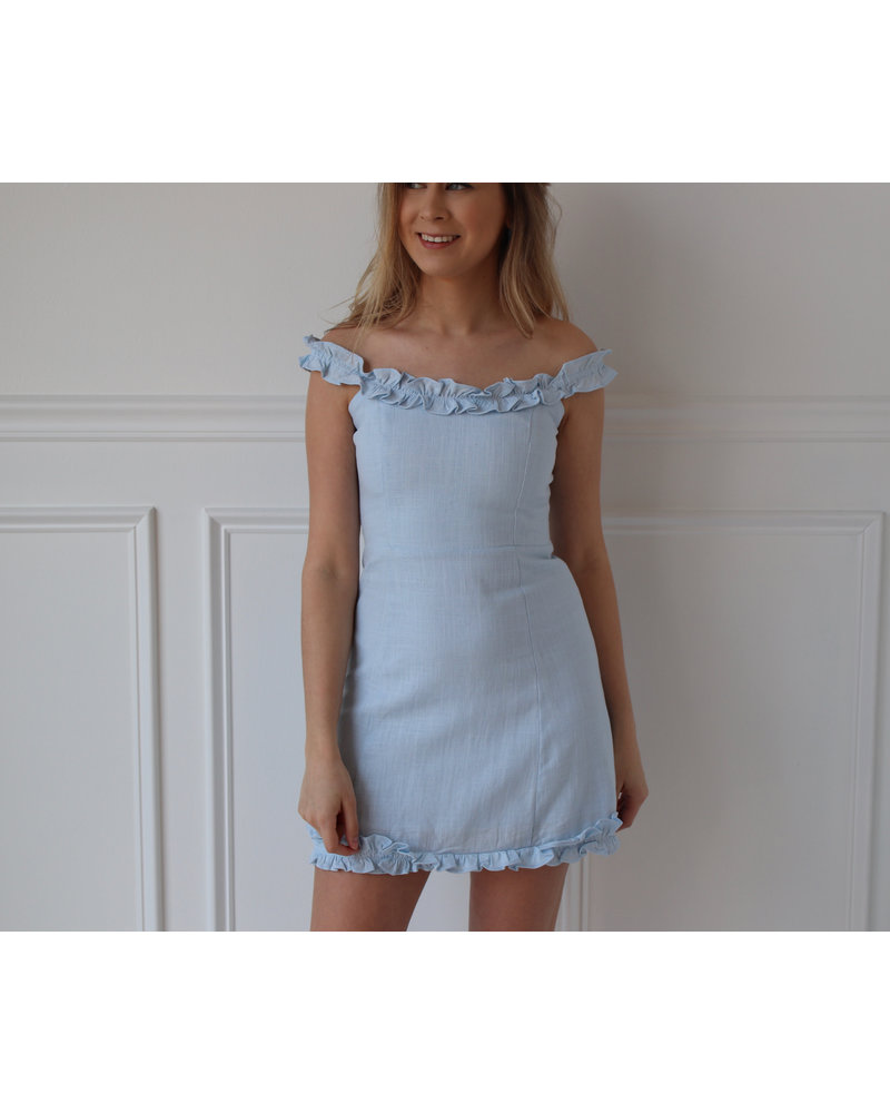 cotton candy bella dress