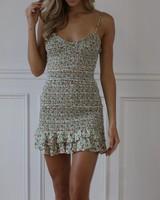 olivaceous dorrit dress