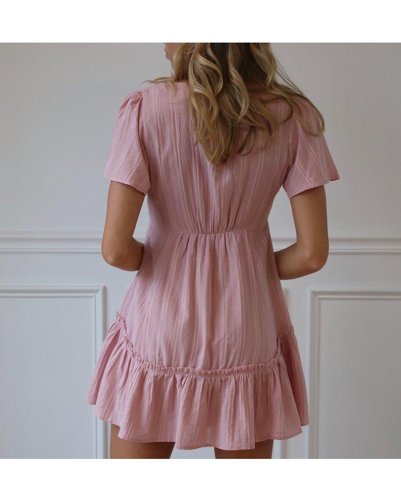 cotton candy ingrid dress