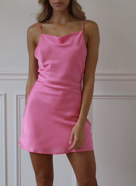 cotton candy lila dress