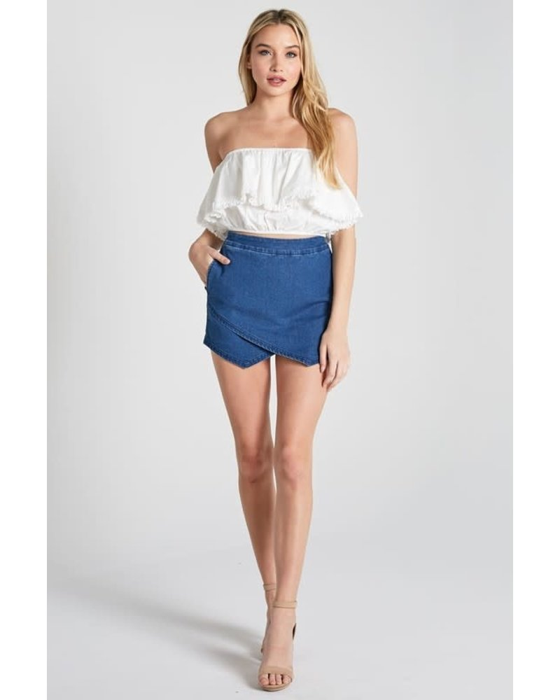 Blue Blush julia skort