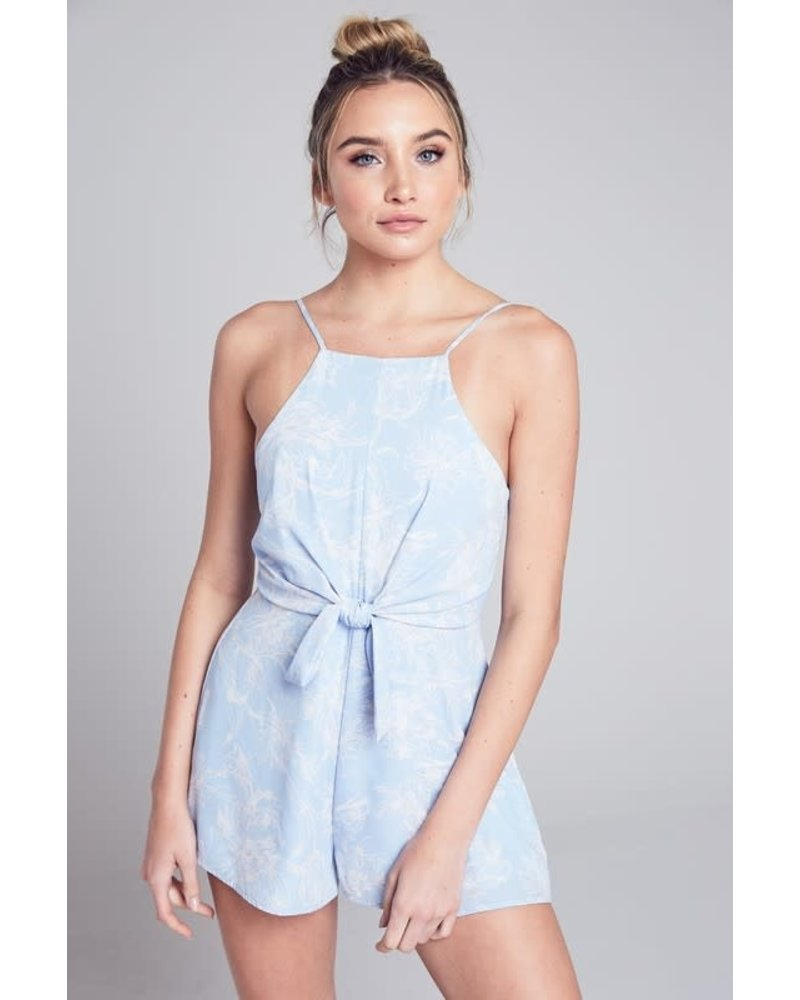 Blue Blush ivy romper