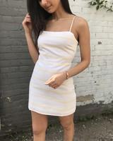 cotton candy angelina dress