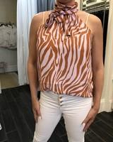 Naked Zebra vanessa top