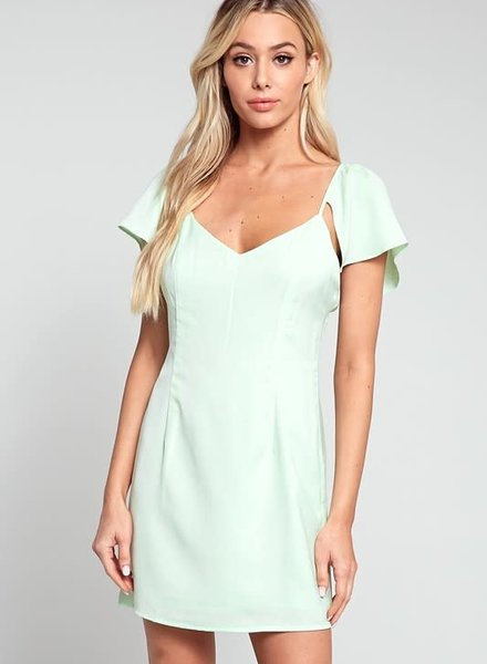 Blue Blush tinsley dress