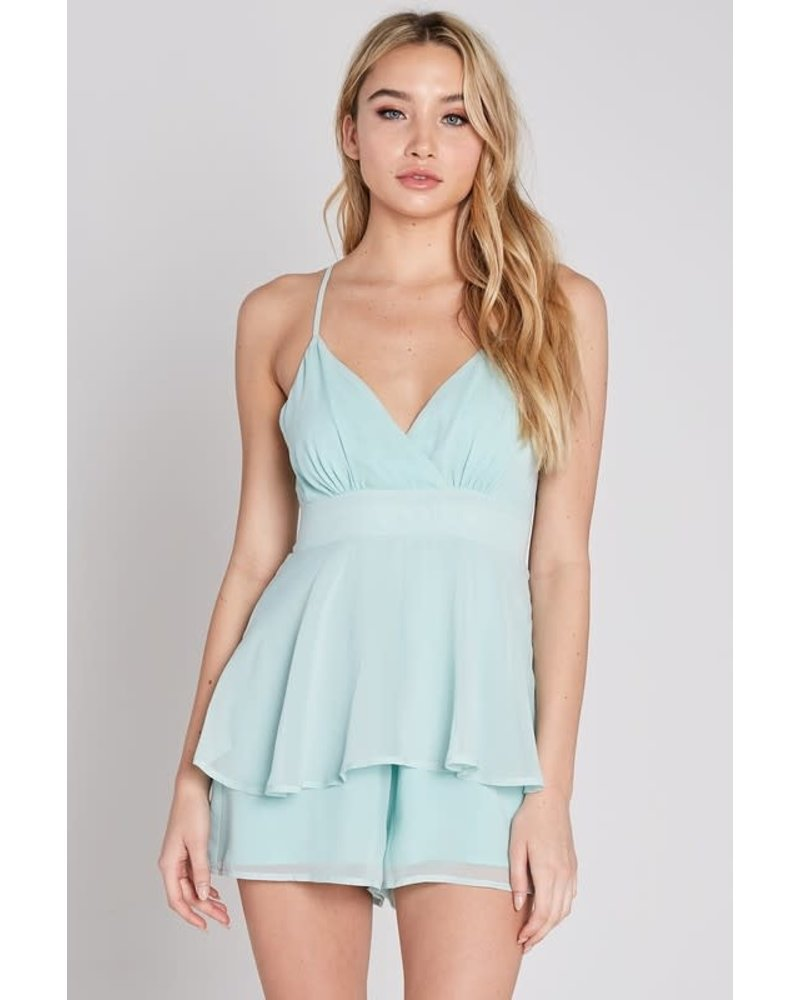 Blue Blush adele romper