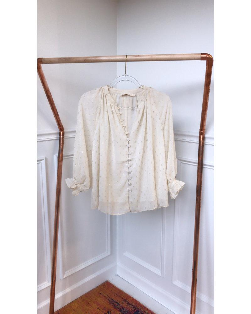 Millibon sky blouse