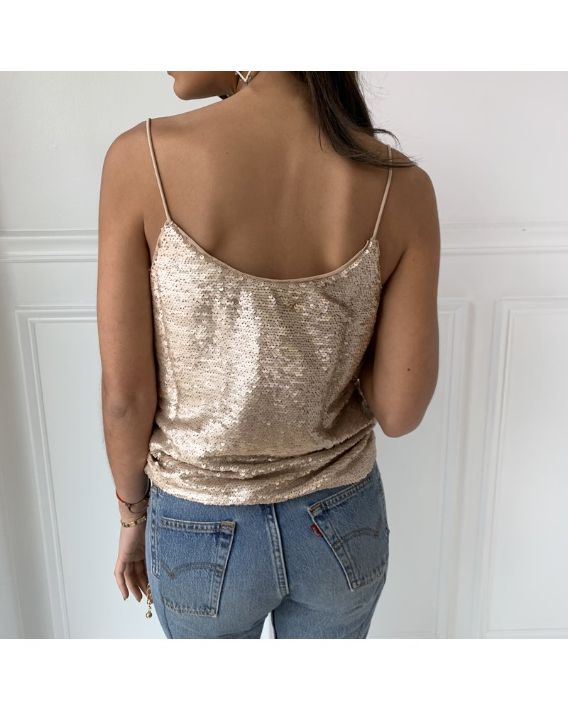 all in favor harmony sequin top