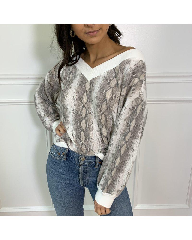 style rack sienna fleece top