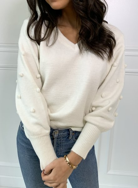 all in favor lila sweater