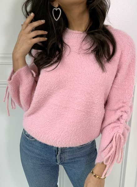 cotton candy summer sweater