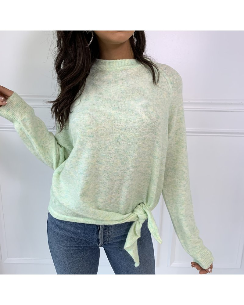cotton candy sawyer sweater