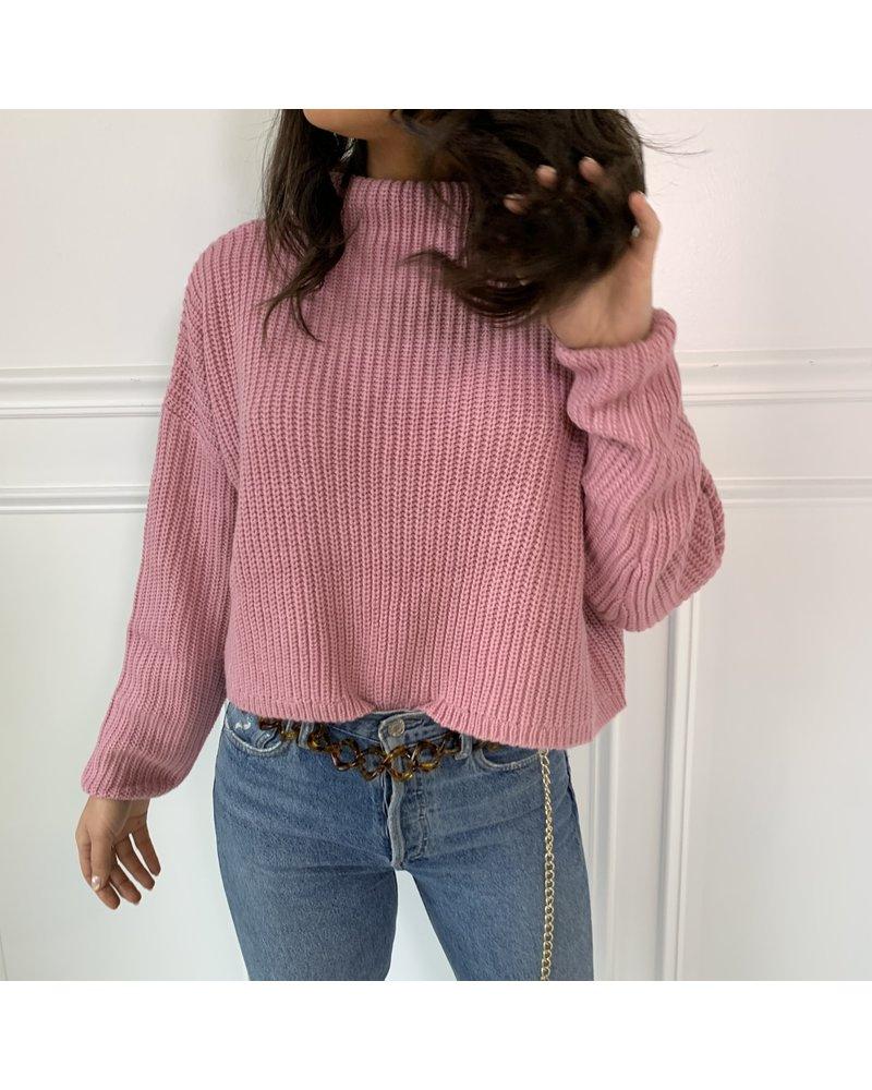 cotton candy daniela sweater