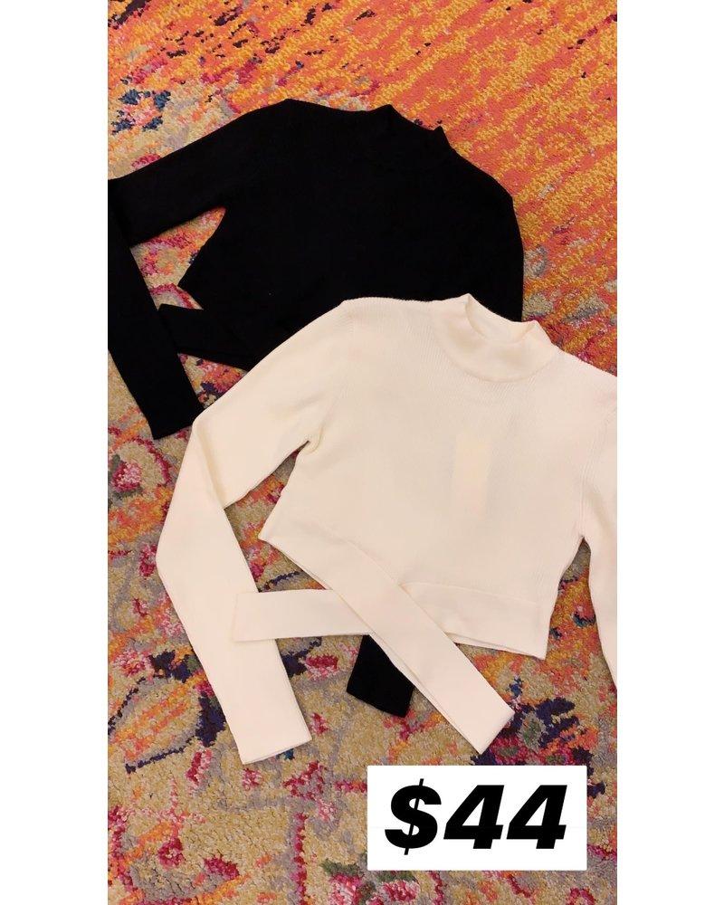 essue amara sweater top