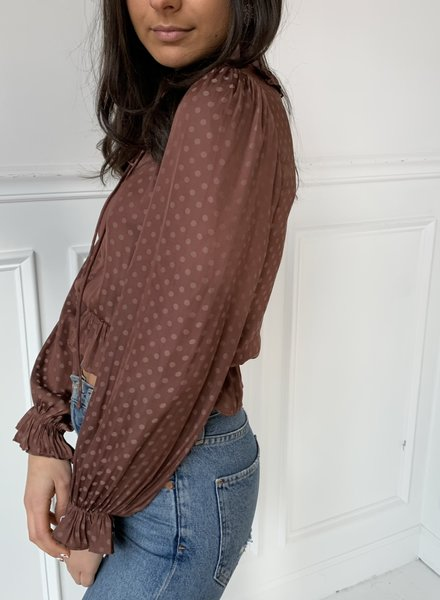 french kiss marin blouse