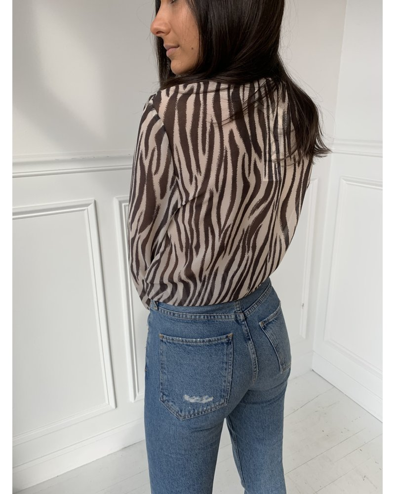 olivaceous amira top