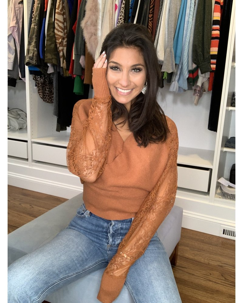 m2 joy sweater top