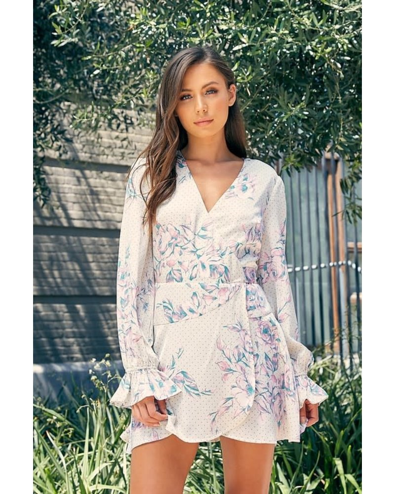 Blue Blush lisa dress