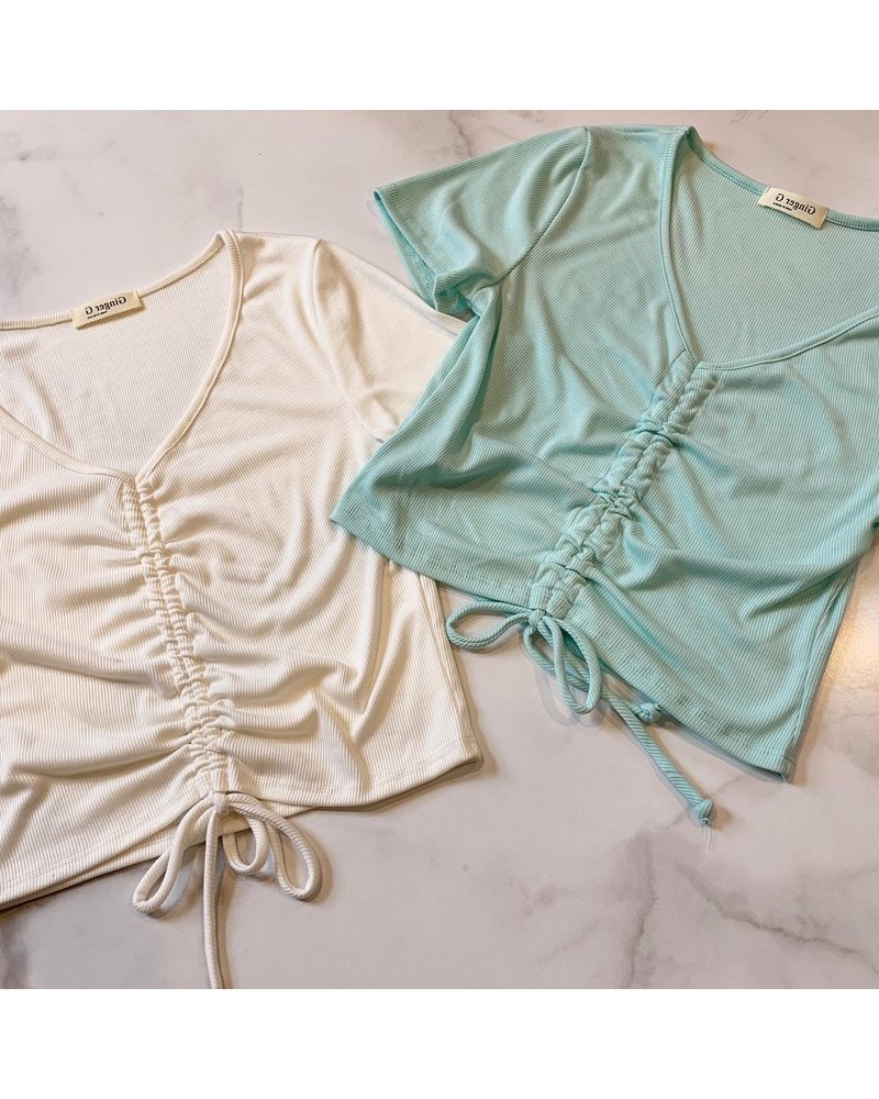 Ginger Green kristie top