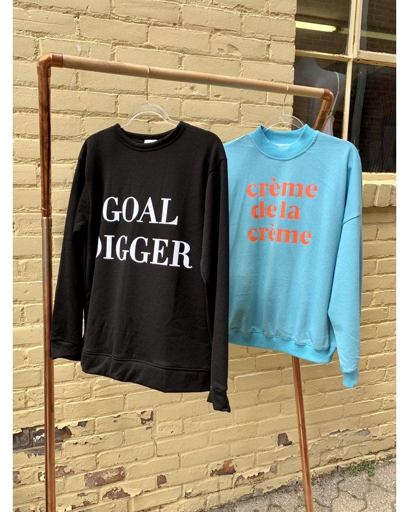 fashion trading creme de la creme sweatshirt