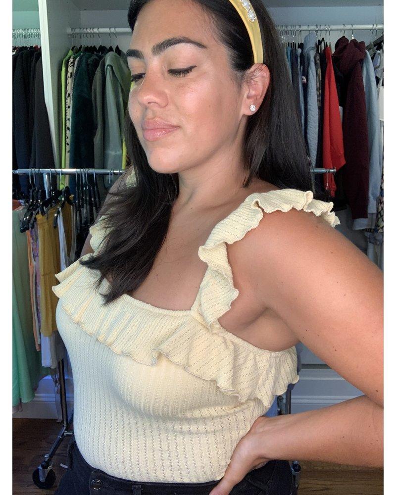 saints & hearts Rita ruffled bodysuit
