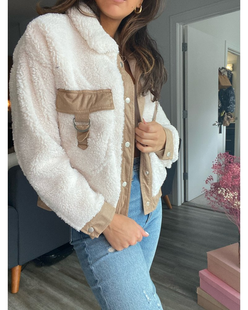 she & sky ruby jacket