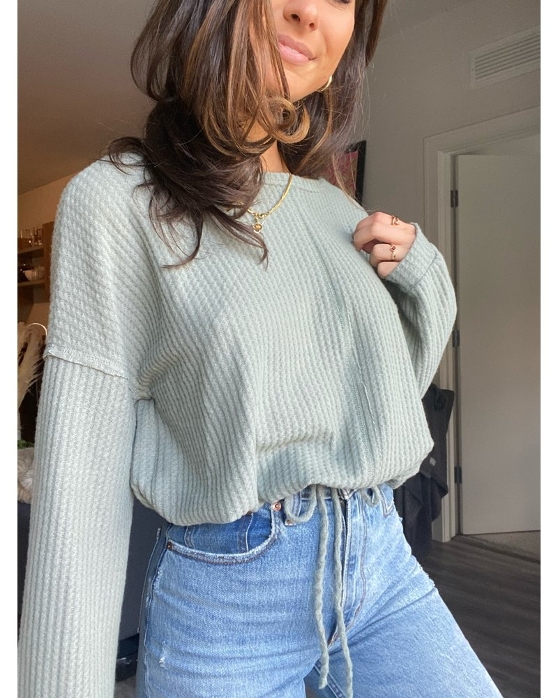 Ginger Green jess top
