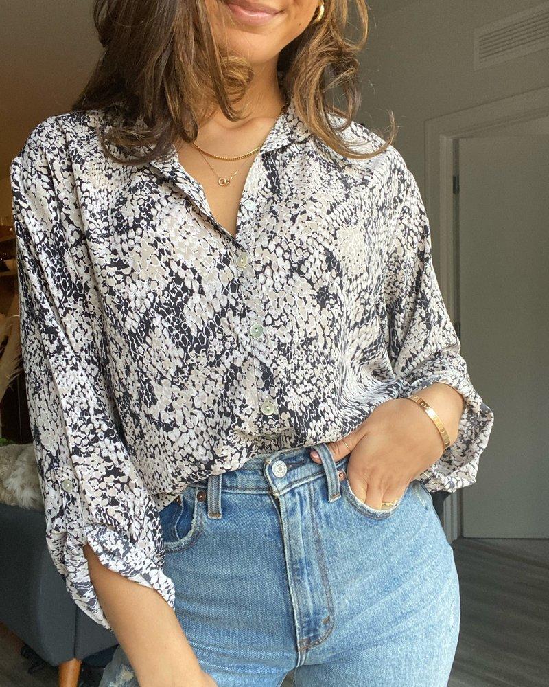 clothing mustard Lora blouse
