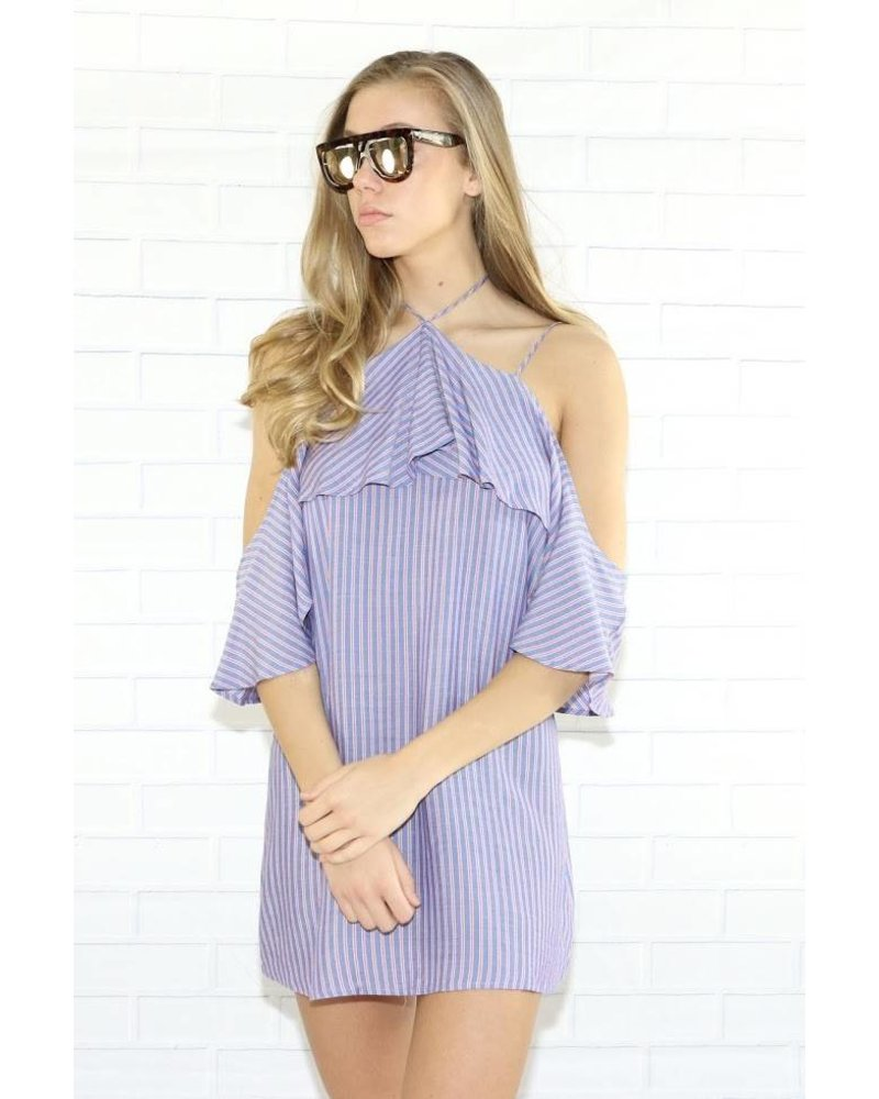 rokoko r66510 3/4 cold shoulder dress