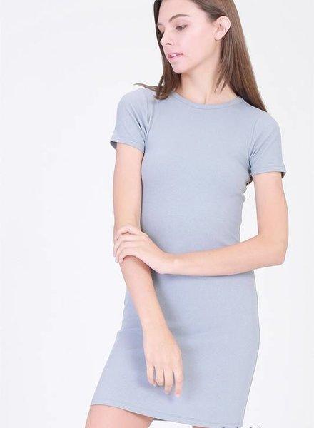double zero 17e643 fitted mini dress
