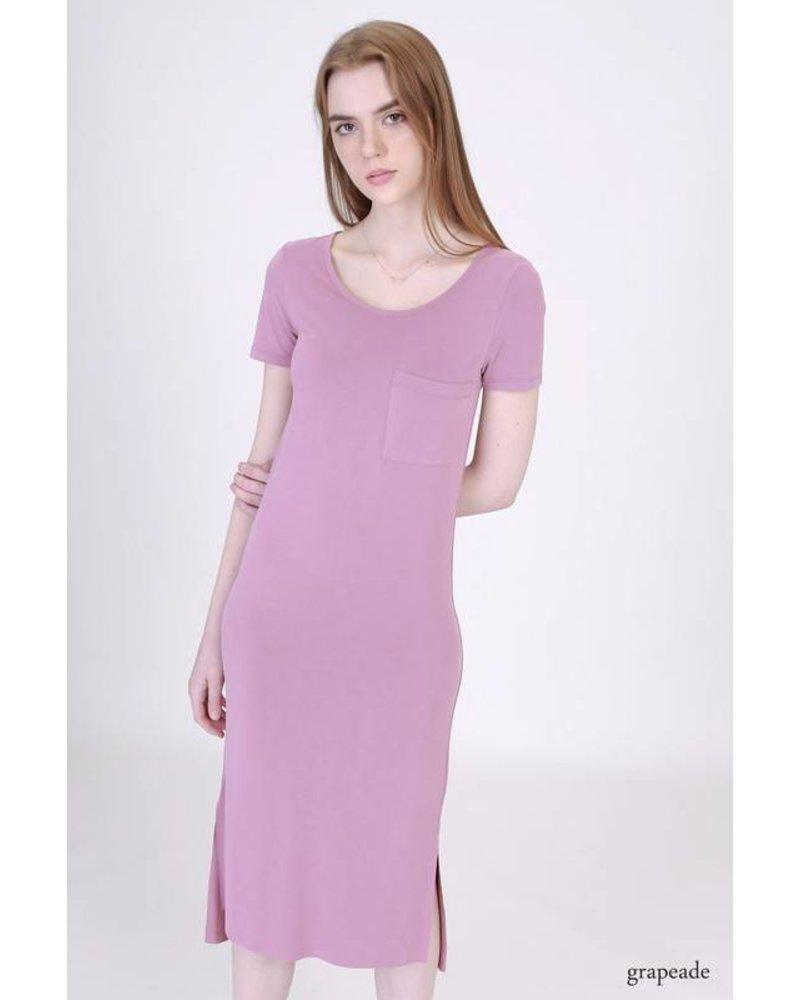 double zero 17g709 t-shirt dress