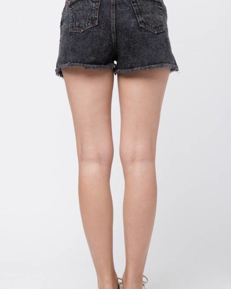 Very J vp71051 embroidered shorts